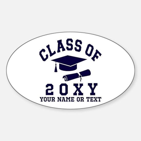 Class of 20?? Sticker (Oval)