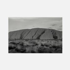 Cute Ayers rock Rectangle Magnet