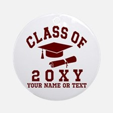 Class of 20?? Round Ornament