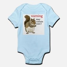 Warning Squirrel Body Suit