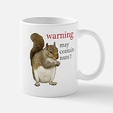 Warning Squirrel Mugs