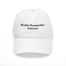 Braille Transcriber costume Baseball Cap