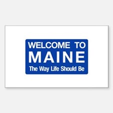 Cute Lewiston maine Decal