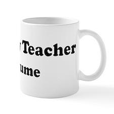 Sociology Teacher costume Mug