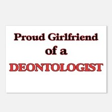 Proud Girlfriend of a Deo Postcards (Package of 8)