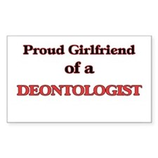 Proud Girlfriend of a Deontologist Decal