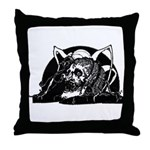 Clarke Poe Vignette 4 Throw Pillow