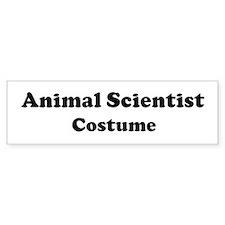 Animal Scientist costume Bumper Bumper Sticker