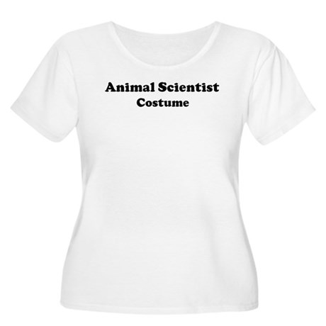 Animal Scientist costume Women's Plus Size Scoop N