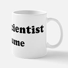 Social Scientist costume Mug