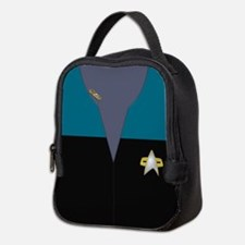 Voyager Blue Maquis Ensign Neoprene Lunch Bag