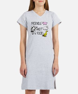 Cute Cow lover Women's Nightshirt