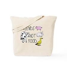 Cute Animal compassion Tote Bag