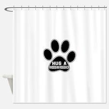 Hug A Rhodesian Ridgeback Dog Shower Curtain