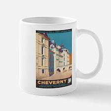 Vintage poster - Cheverny Mugs