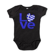 Unique Greece Baby Bodysuit