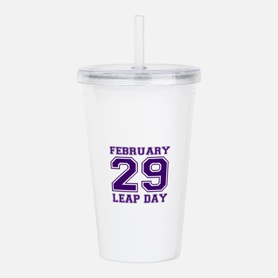 LEAP DAY Acrylic Double-wall Tumbler