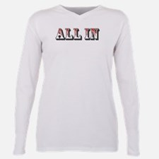 All In Plus Size Long Sleeve Tee