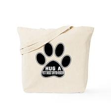 Hug A Petit Basset Griffon Vendeen Dog Tote Bag