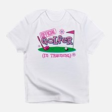 Girl Golfer In Training Infant T-Shirt