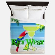 Key West Margarita Queen Duvet