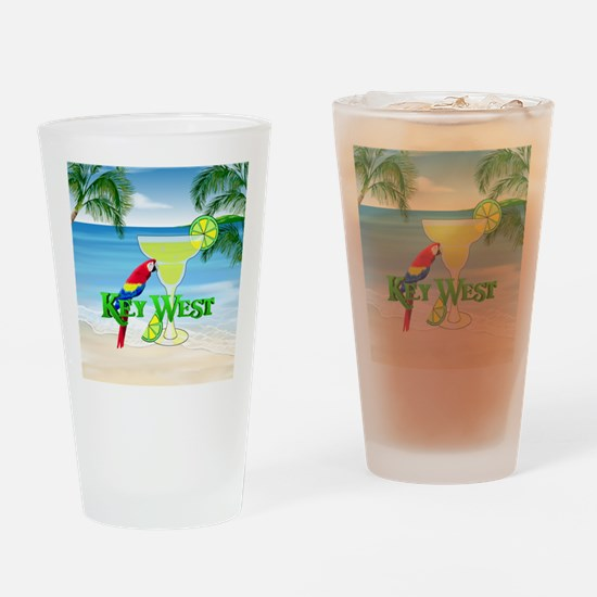 Key West Margarita Drinking Glass