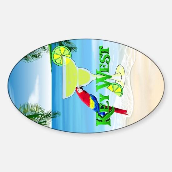 Key West Margarita Bumper Stickers