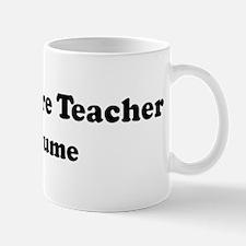 Agriculture Teacher costume Mug