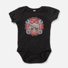 Funny Cute pirate Baby Bodysuit