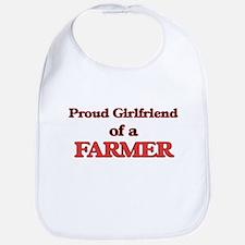 Proud Girlfriend of a Farmer Bib