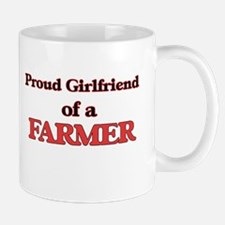 Proud Girlfriend of a Farmer Mugs