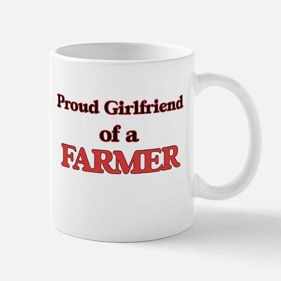 Proud Girlfriend of a Farmer Mugs