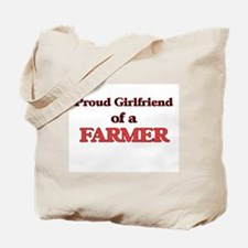 Proud Girlfriend of a Farmer Tote Bag