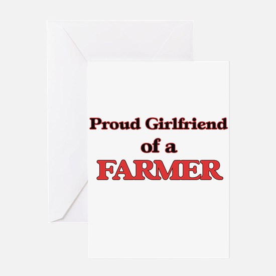 Proud Girlfriend of a Farmer Greeting Cards