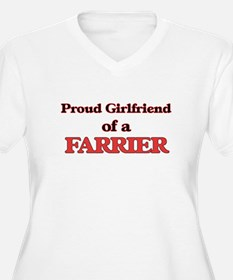 Proud Girlfriend of a Farrier Plus Size T-Shirt