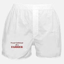 Proud Girlfriend of a Farrier Boxer Shorts