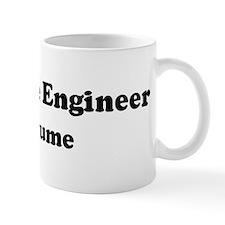 Aerospace Engineer costume Mug