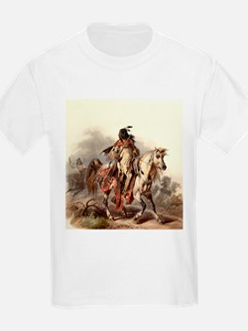 Blackfoot Native American Warrior T-Shirt
