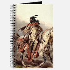 Blackfoot Native American Warrior Journal