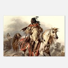 Blackfoot Native American Postcards (Package of 8)