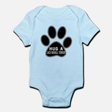 Hug A Jack Russell Terrier Dog Infant Bodysuit