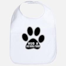 Hug A Jack Russell Terrier Dog Bib