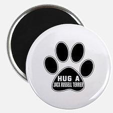 Hug A Jack Russell Terrier Dog Magnet