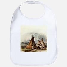 Assiniboin Native Skin Lodge Bib