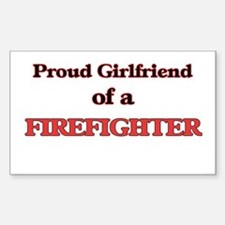 Proud Girlfriend of a Firefighter Bumper Stickers