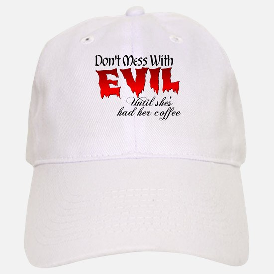 Evil Coffee Baseball Baseball Cap