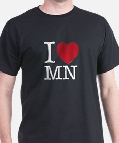 I Love MI Michigan T-Shirt
