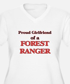 Proud Girlfriend of a Forest Ran Plus Size T-Shirt