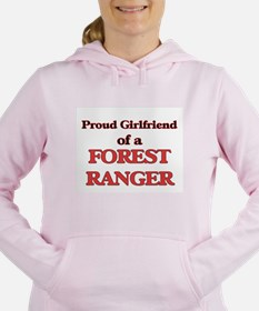 Proud Girlfriend of a Fo Women's Hooded Sweatshirt
