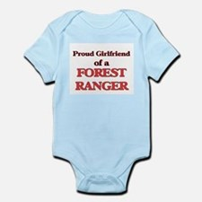 Proud Girlfriend of a Forest Ranger Body Suit